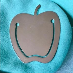 Tiffany & Co. Sterling Silver Apple Bookmark